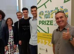 studenti invitati alla presentazione di Earth Prize