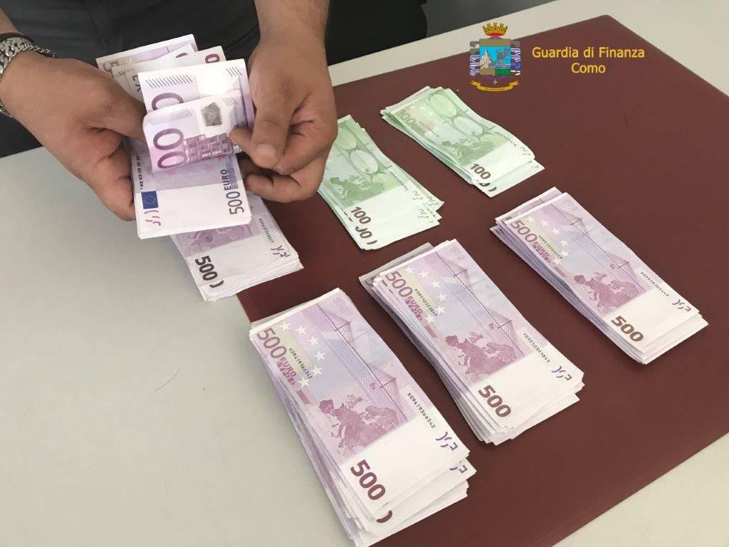 Sventato tentativo di esportare valuta dalla guardia di finanza di Como