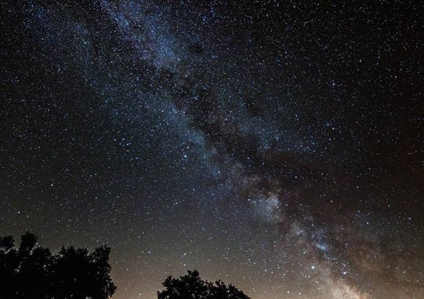 via lattea foto di matteo lopedota cielo notte stellata