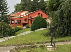Viggiù - La biblioteca comunale e il parco del Museo Butti
