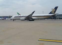 visita Singapore Airlines Malpensa