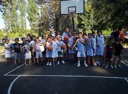 Campo basket Ronchi inaugurazione