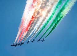 Frecce Tricolore nel cuore italiano