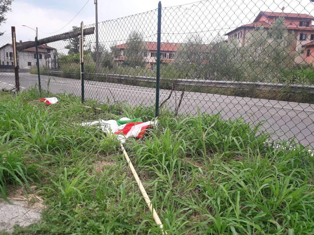 Vandalismi alla Schiranna