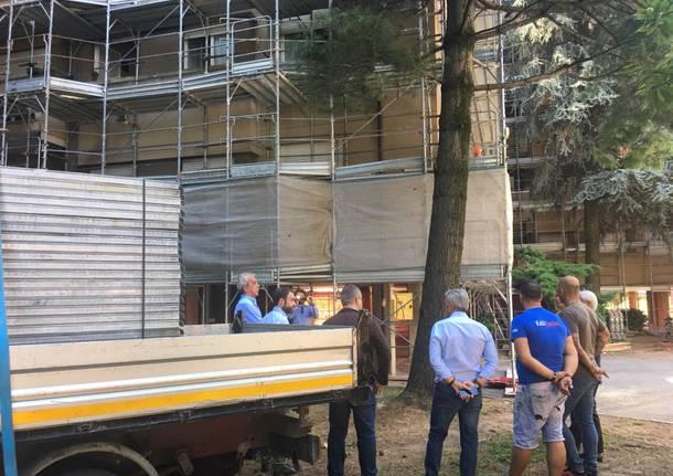 Via Sevesi: arriva il cappotto termico per le case popolari. Coi soldi della Regione
