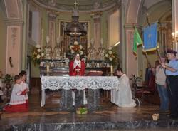 L\'ingresso del nuovo parroco a Cuvio