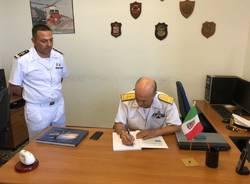 L\'ammiraglio in visita sul lago Maggiore