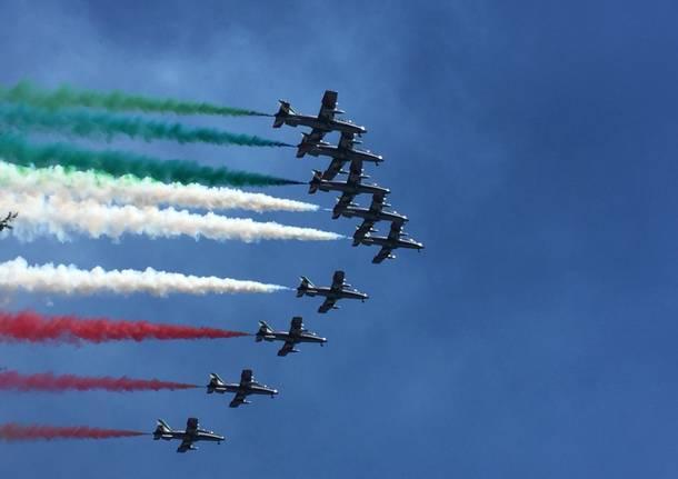 Arona Air Show - Le Prove delle Frecce Tricolori