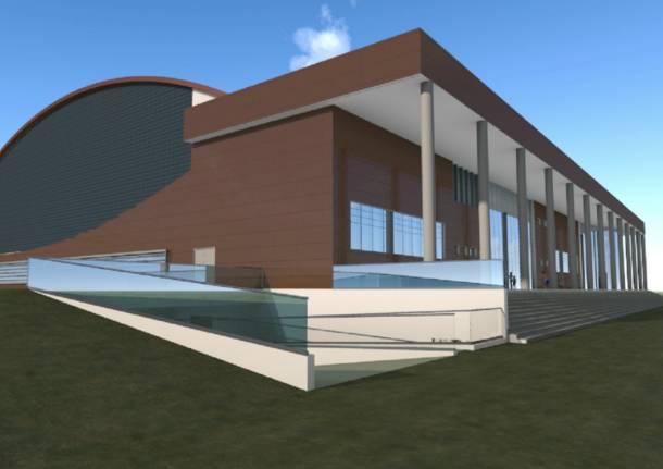 I progetti del nuovo palaginnastica
