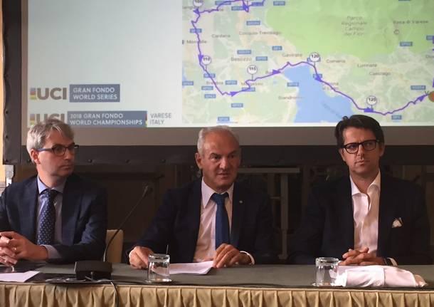 Presentazione Mondiali di Gran Fondo a Varese