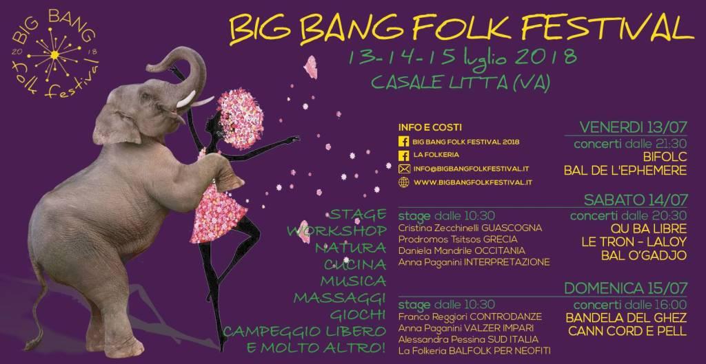 Big Bang Folk Festival 2018