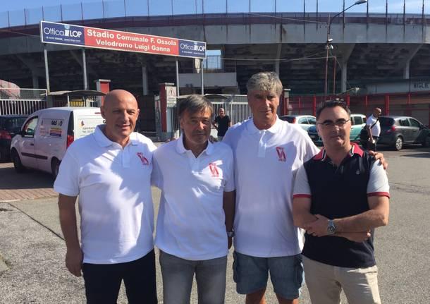 Il raduno del Varese Calcio 2018-19