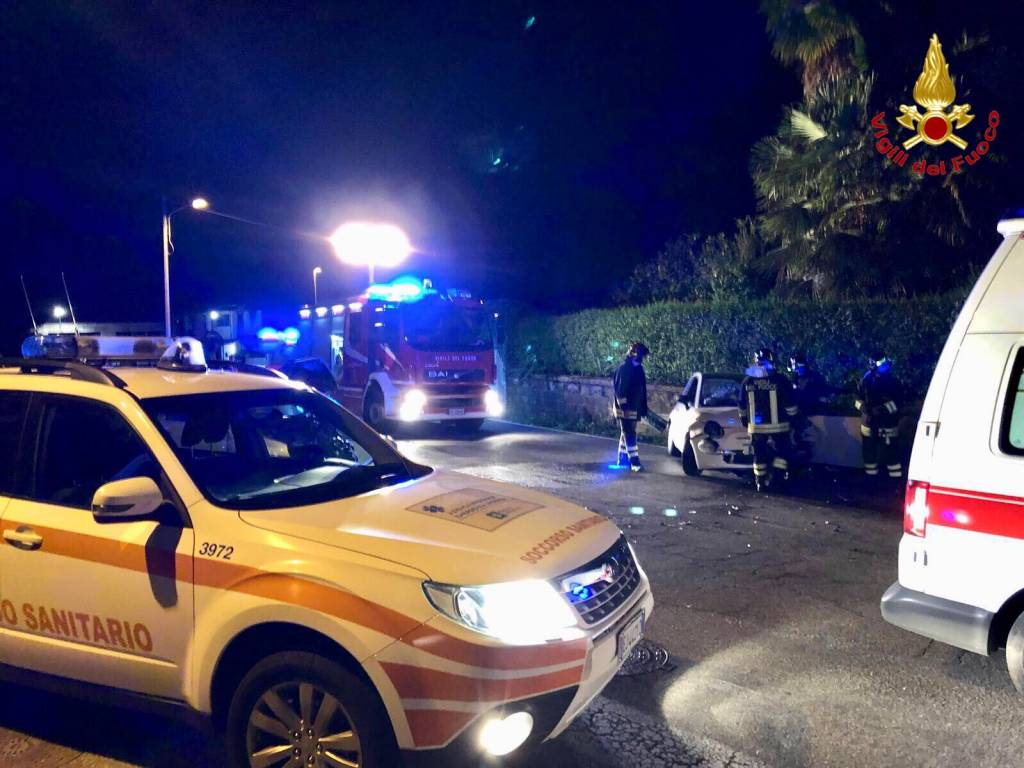 Incidente nella notte a Castelveccana