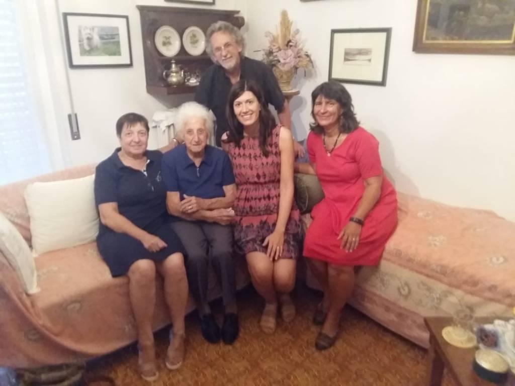 I 102 anni della signora Luigia