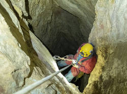 La discesa nella Caverna dei Tigli