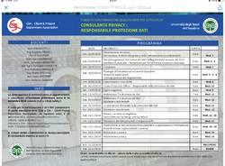 Corso alta formazione qualificante per le figure di CONSULENTE PRIVACY e RESPONSABILE PROTEZIONE DATI
