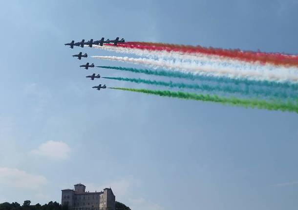 Le Frecce Tricolori all'Arona Air Show 2018