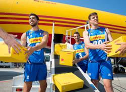 Le nazionali di Volley a Malpensa