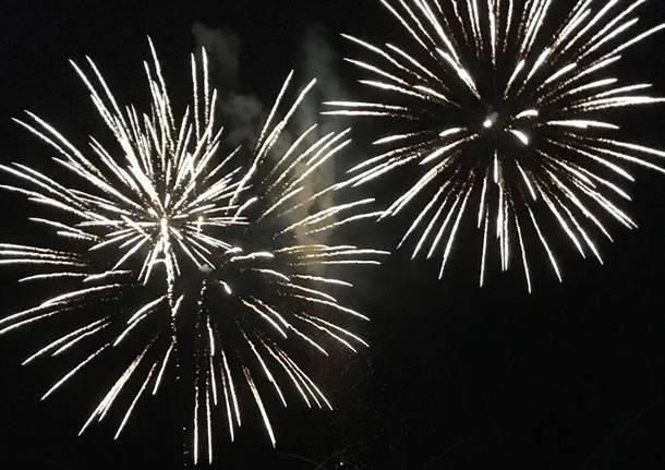 I fuochi d\'artificio di Luino 2018