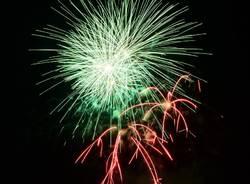 I fuochi d\'artificio di Sesto Calende 2018