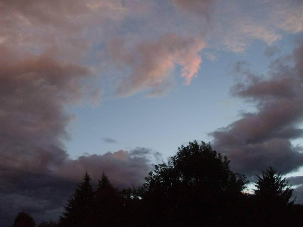 Un cielo di luglio.....