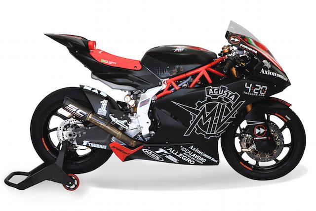 La nuova MV Agusta per il Motomondiale
