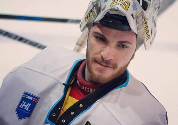 davide bertin hockey su ghiaccio mastini varese