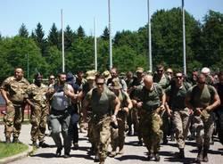 soldati esercitazione