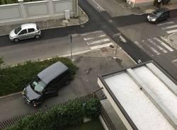 Gli incidenti tra via Maino e Nannetti