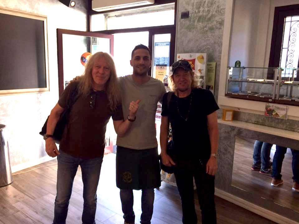 Gli Iron Maiden a Somma Lombardo