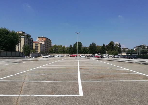 Il nuovo parcheggio della stazione di Busto