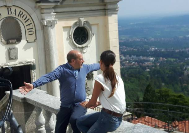 Il Sacro Monte di Varese in tv