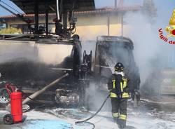 incendio besnate autocisterna