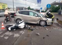 Incidente mortale a Solaro luglio 2018
