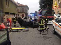 Incidente via Curtatone Gallarate 12 luglio 2018