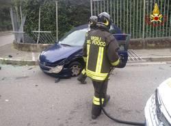 Incidente via Curtatone Gallarate 12 luglio 2018