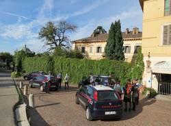 Induno Olona - Carabinieri a Villa Castiglioni