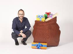 La mostra realizzata in mattoncini Lego