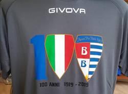 logo maglia 100 anni pro patria