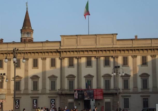 Operaio cade da un'impalcatura e muore a Palazzo Reale