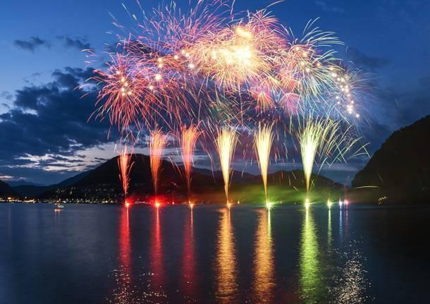 lugano fuochi d'artificio