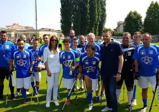 nazionale italiana amputati busto arsizio