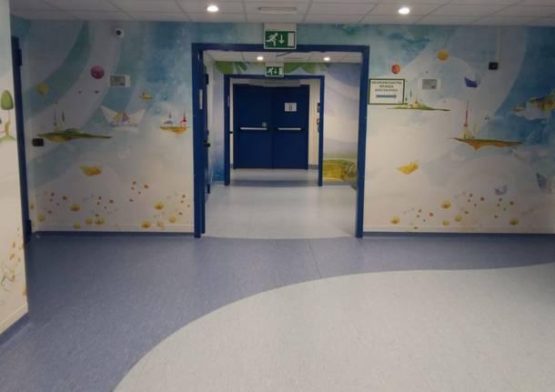 Il reparto di neuropsichiatria infantile al Del Ponte
