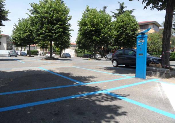 Saronno - parcheggio piazzale Saragat - ospedale saronno