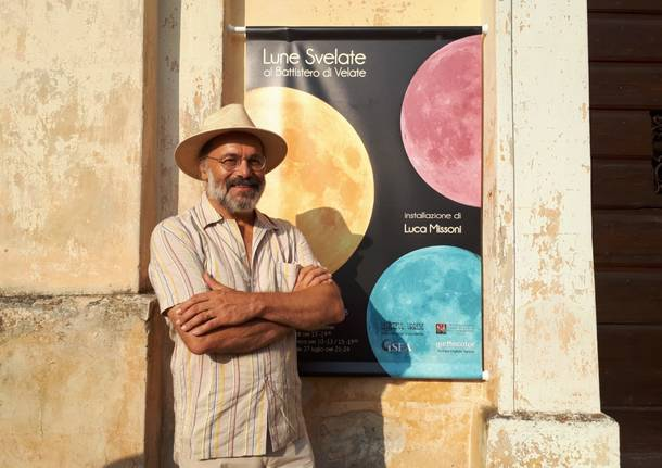 Una luna in battistero con Luca Missoni