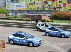 Varese - Polizia in piazza Repubblica