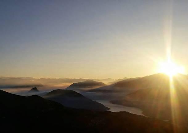 alba sul monte poncione - foto di andrea betti