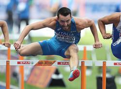 atletica leggera 110 ostacoli lorenzo perini europei berlino 2018