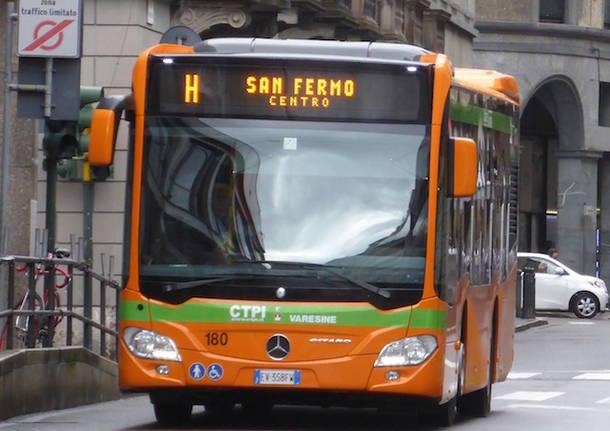 autobus linea h autolinee varesine