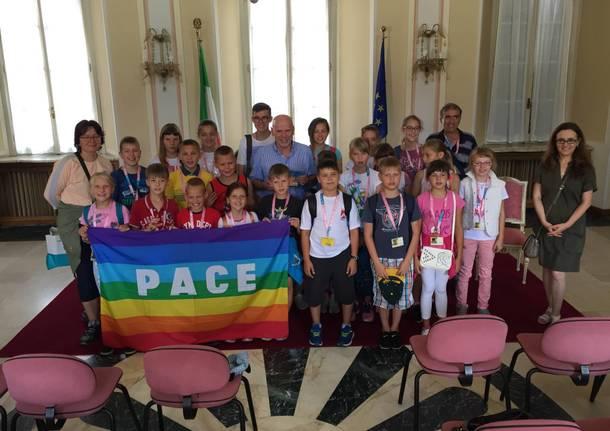 bambini di Chernobyl a Varese 2018